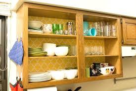 Inside Kitchen Cabinet Door Storage Kitchens Without Cabinet Doors Upandstunning Club