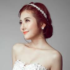 usd 20 50 ps 2017 new headdress white korean wedding