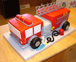 firetruck cakes truck cake done lessons learned cakecentral