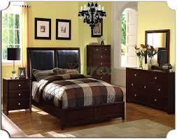 Black Leather Bedroom Furniture King Size Bedroom Sets For Sale Black Faux Leather Dresser