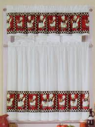 kitchen curtain designs decorating brilliant white and red kitchen curtains designs with