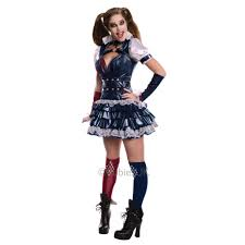 new gothic gotham harley quinn jokers womens halloween