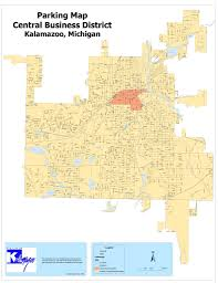 Cities In Michigan Map by Parking Enforcement In City Neighborhoods To Be Handled By