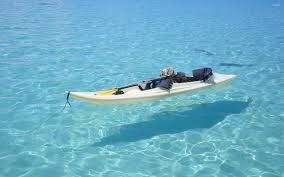 kayak on clear water wallpaper photography wallpapers 39328