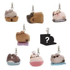 pusheen earrings gund pusheen cat plush mystery box series 3 plushes