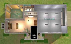mod the sims bi level basics simple split level design advertisement