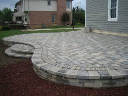 Patio Paver Blocks Brick Pavers Canton Plymouth Northville Arbor Patio Patios