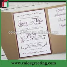 pocket fold affordable pocketfold wedding invitations european style graceful