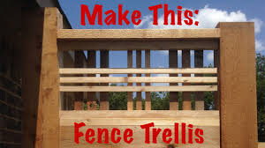 make this lattice craftsman style youtube