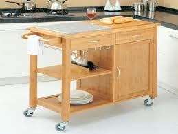 oak kitchen island cart oak kitchen island cart large portable mobile workstation