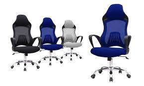 fauteuille de bureau gamer fauteuil de bureau gamer 3 coloris groupon