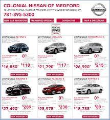 nissan leaf deals lease nissan sale in boston ma nissan lease deals colonial nissan of