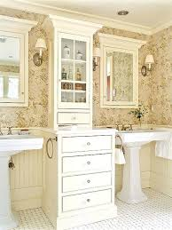 Bathroom Pedestal Sink Storage Wonderful Bathroom Pedestal Sink Storage Cabinet Sinks With