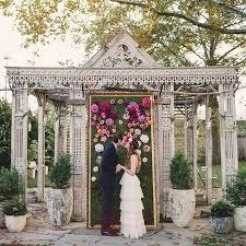 Wedding Altar Backdrop Unique Alternative Ideas For Decorating The Altar For A Wedding