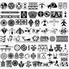 pictures indian symbols and designs drawing gallery