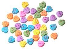 valentines heart candy sayings sweethearts candy
