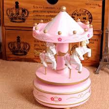 ungew hnliche hochzeitsgeschenke rosa karussell spieluhr merry go hölzerne spieluhr