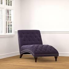 Velvet Chaise Lounge Gracewood Hollow Heliodorus Purple Velvet Chaise Lounge Free