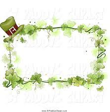 shamrock frame clip art 37