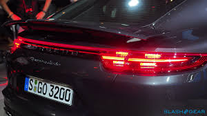 Porsche Panamera Red - 2017 porsche panamera 4s and turbo every techie u0027s dream car