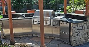 Outdoor Kitchen Furniture Stainless Steel Outdoor Kitchens Steelkitchen