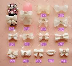 acrylic bow nail home decoration live