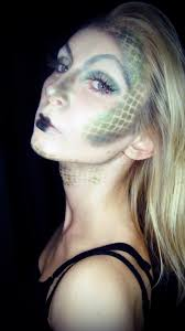 halloween snake nina midlik makeup mermaid snake halloween tutorial