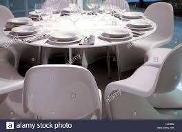 dining table covered plastic chairs white dining room table