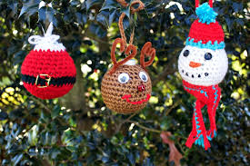 crochet tree ornaments allfreecrochet