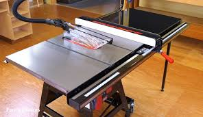 industrial table saws for cabinet makers sawstop