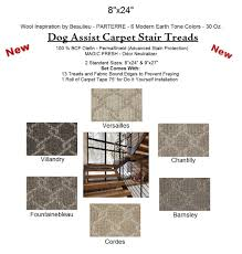 Earth Tone Pictures by Dog Assist Carpet Stair Treads