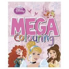 buy disney princess mega colouring book art supplies
