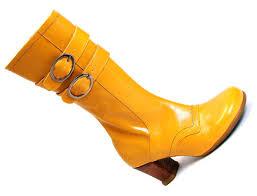 yellow boots s shoes fluevog shoes shop mirella yellow