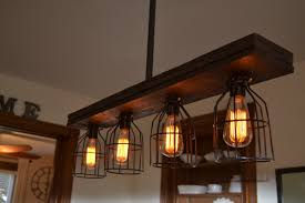 kitchen island pendant light fixtures west ninth vintage triple wood 4 light kitchen island pendant