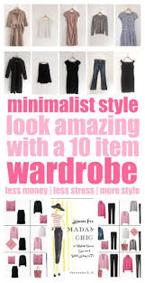 Wardrobe Clothing The Benefits Of The 10 Item Wardrobe Smart Money Simple Life