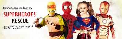 superhero u0026 villain costumes mega fancy dress