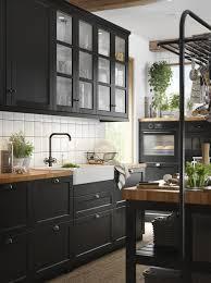 ikea black kitchen cupboards ikea lerhyttan black kitchen cupboards page 1 line 17qq