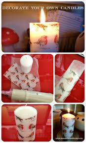 decorate your own tea cup christmas decorate a pillar candle christmas