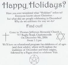 pagan ritual pressed on