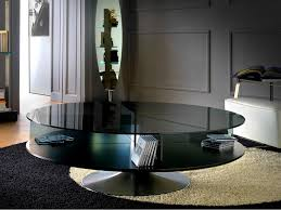 coffee table marvellous revolving glass furniture modern glass swivel top coffee table loreto