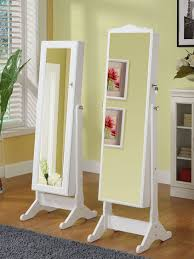 Jewelry Box Mirror Stand Bedroom Interesting Safety Storage Design With Over The Door