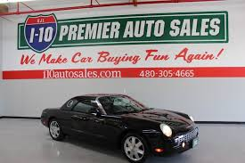 2002 Ford Thunderbird Premium Stock by Used 2002 Ford Thunderbird W Hardtop Premium In Phoenix