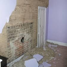 reader project wall teardown reveals hidden fireplace mendyl