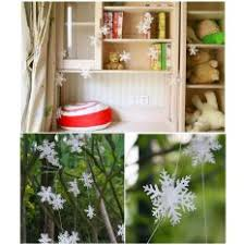promotion today 12 pcs winter artificial snowflake