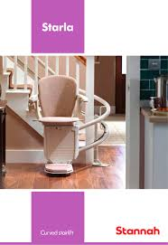 starla curved stannah stairlifts pdf catalogues