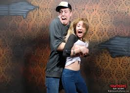 Haunted House Meme - 32 hilarious haunted house reactions caught on camera huffpost