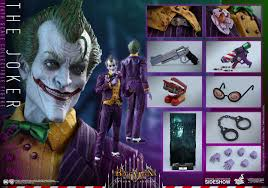 arkham city calendar man halloween batman arkham asylum the joker sixth scale figure