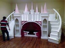 Princess Castle Bunk Bed Castle Loft Bed Ebay