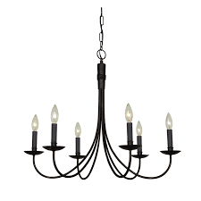 Rectangular Iron Chandelier Lamp Contemporary Candle Chandelier Non Electric For Beautiful