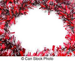 christmas tinsel christmas tinsel garland with stock image search photos